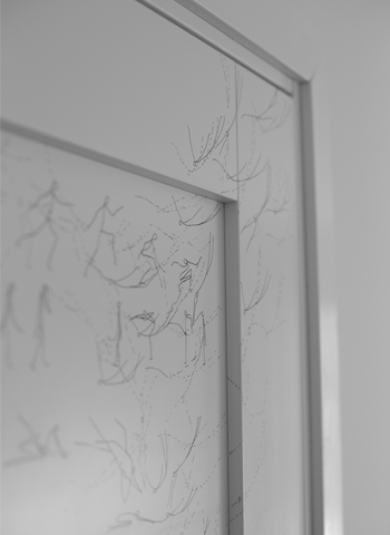 Drawings on walls